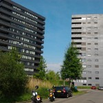 Twee woontorens Veenendaal. Foto: WWH Bouwkundig Adviesbureau