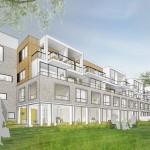Boekhuis Zonnehof Amersfoort. Artist impr: ZEEP Architects
